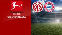 Mainz - Bayern Monaco. 31a g.
