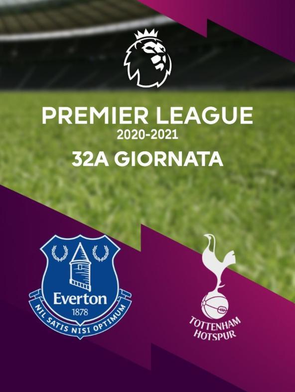 Everton - Tottenham. 32a g.