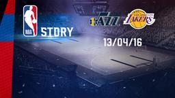 Utah - Lakers 13/04/16