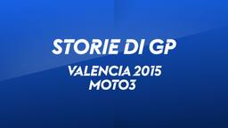 Valencia 2015. Moto3