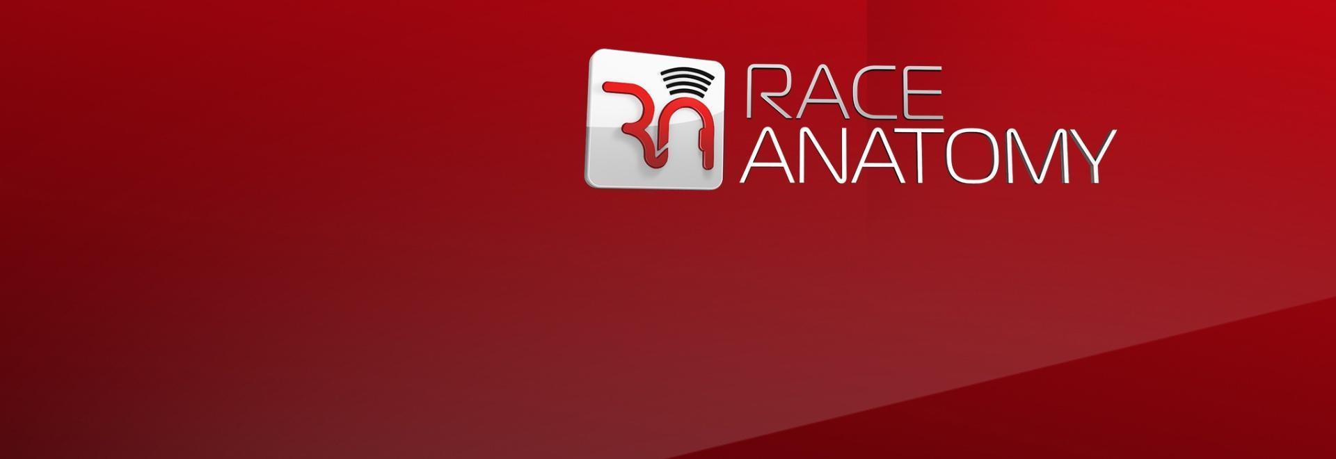 Race Anatomy F1 2018