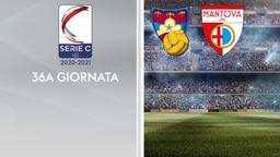 Gubbio - Mantova. 36a g.