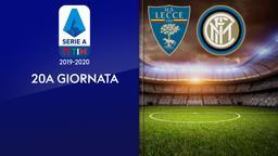 Lecce - Inter. 20a g.
