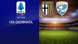 Parma - Brescia. 17a g.