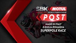 Made in Italy e Emilia Romagna Superpole Race