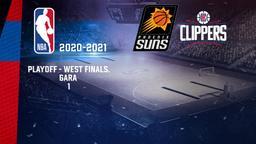 Phoenix - LA Clippers. Playoff - West Finals. Gara 1