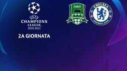 Krasnodar - Chelsea. 2a g.