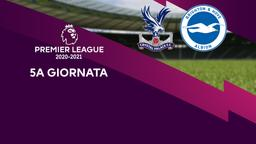 Crystal Palace - Brighton & Hove Albion. 5a g.