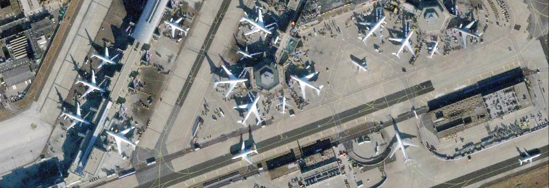 Mega aeroporto ai raggi X