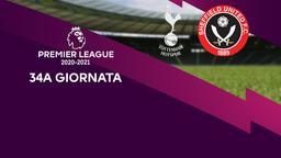 Tottenham - Sheffield United. 34a g.