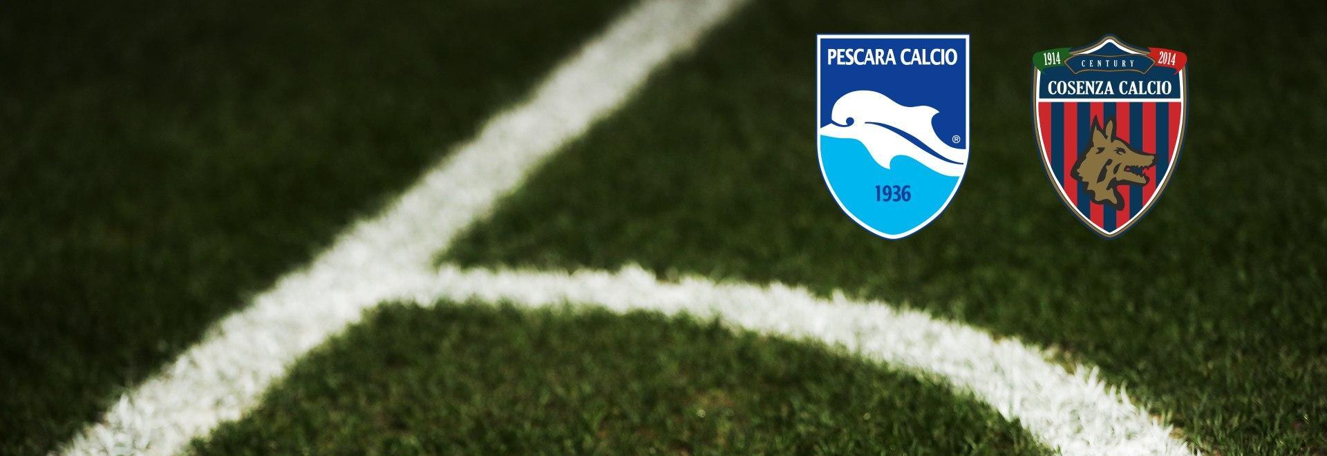 Pescara - Cosenza. 22a g.