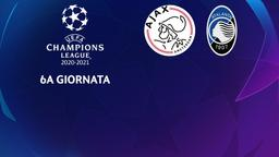 Ajax - Atalanta. 6a g.