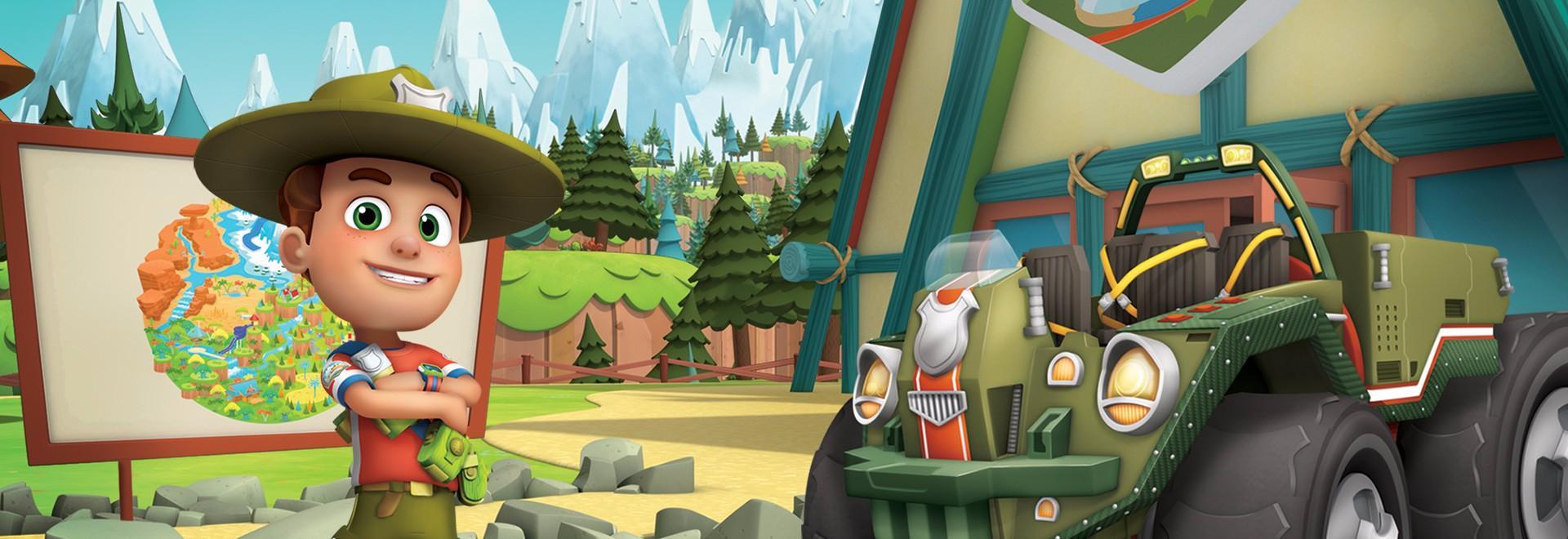 Ranger Rob all'apice dell'avventura / I cuccioli-sitter di Big Sky Park