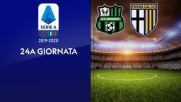 Sassuolo - Parma. 24a g.