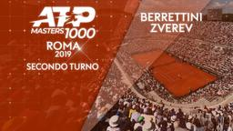 Berrettini - Zverev. 2° Turno
