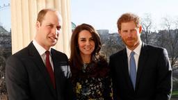 William, Kate, Harry