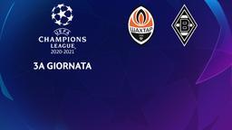 Shakhtar Donetsk - Borussia Moenchengladbach. 3a g.