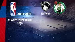 Brooklyn - Boston. Playoff - First Round. Gara 2