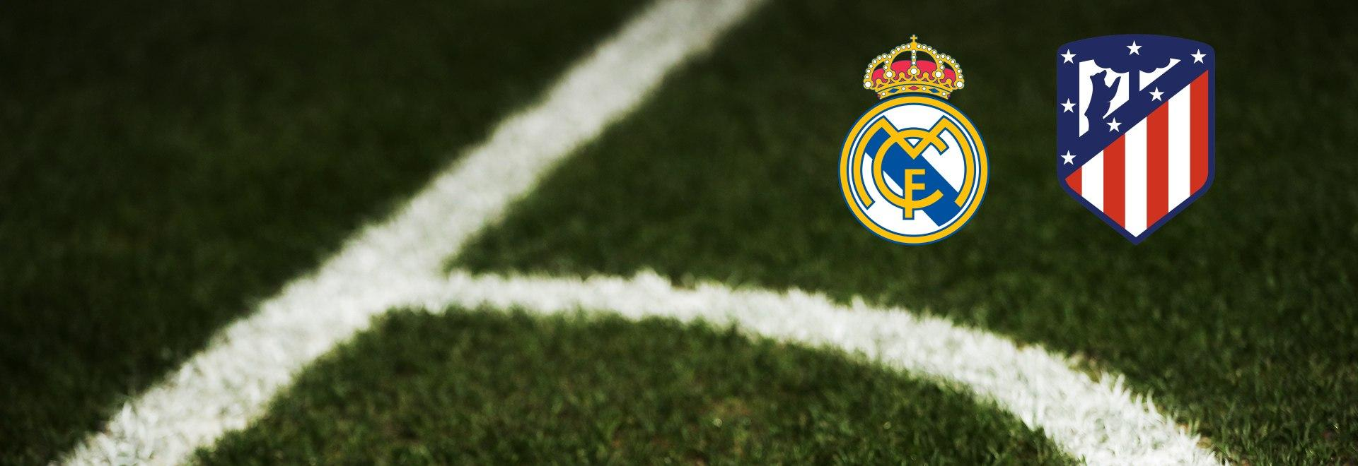 Real Madrid - Atletico Madrid. 13a g.