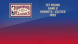 Hornets - Celtics 1993. 1st Round Game 2