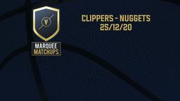 Clippers - Nuggets 25/12/20