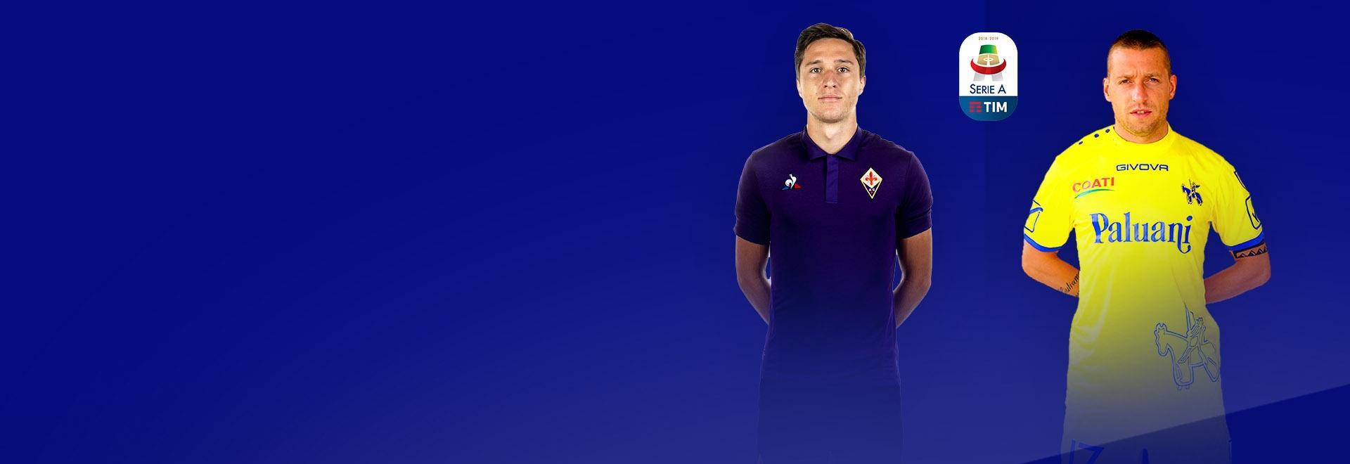 Fiorentina - Chievo. 2a g.