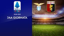 Lazio - Genoa. 34a g.
