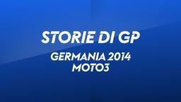 Germania, Sachsenring 2014. Moto3