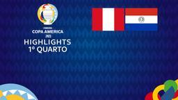 Perù - Paraguay. 1° quarto