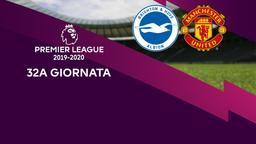 Brighton & Hove Albion - Man Utd. 32a g.