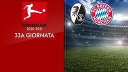 Friburgo - Bayern Monaco. 33a g.