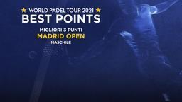 Migliori 3 punti Madrid Open Maschile