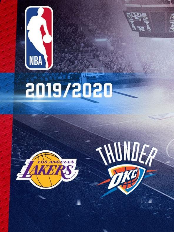 NBA: LA Lakers - Oklahoma   (diretta)