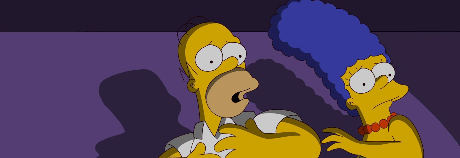 Bart si ferma ad annusare Roosevelt