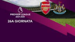 Arsenal - Newcastle. 26a g.