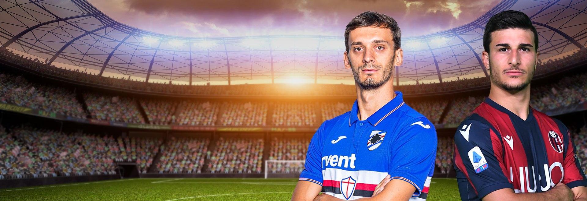 Sampdoria - Bologna. 28a g.