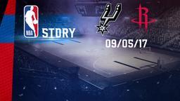 San Antonio - Houston 09/05/17. Playoff Gara 5