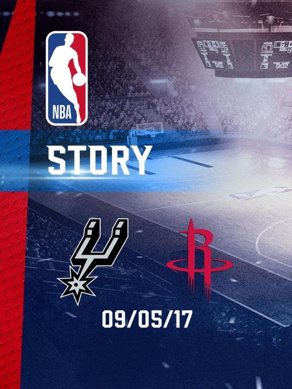 NBA: San Antonio - Houston 09/05/17