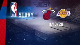Miami - La Lakers 11/10/20. Finals Gara 6