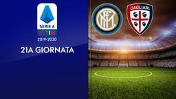 Inter - Cagliari. 21a g.