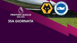Wolverhampton - Brighton & Hove Albion. 35a g.