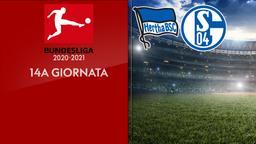 Hertha B. - Schalke. 14a g.
