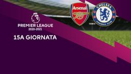 Arsenal - Chelsea. 15a g.