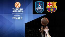 Efes - Barcellona. Finale