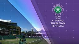 Wimbledon 2006: Sharapova - Pennetta. 4° turno