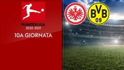 Eintracht F. - Borussia Dortmund. 10a g.