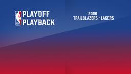2020: Trailblazers - Lakers