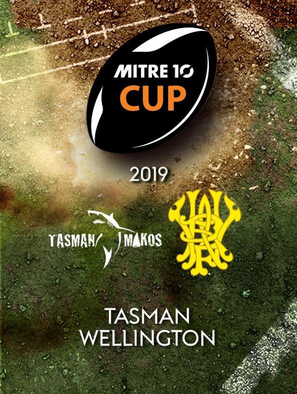 Rugby: Tasman - Wellington
