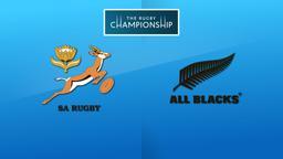 Sudafrica - All Blacks