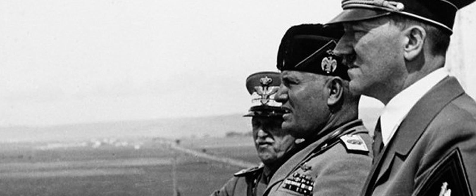 Il viaggio del Fuhrer in Italia